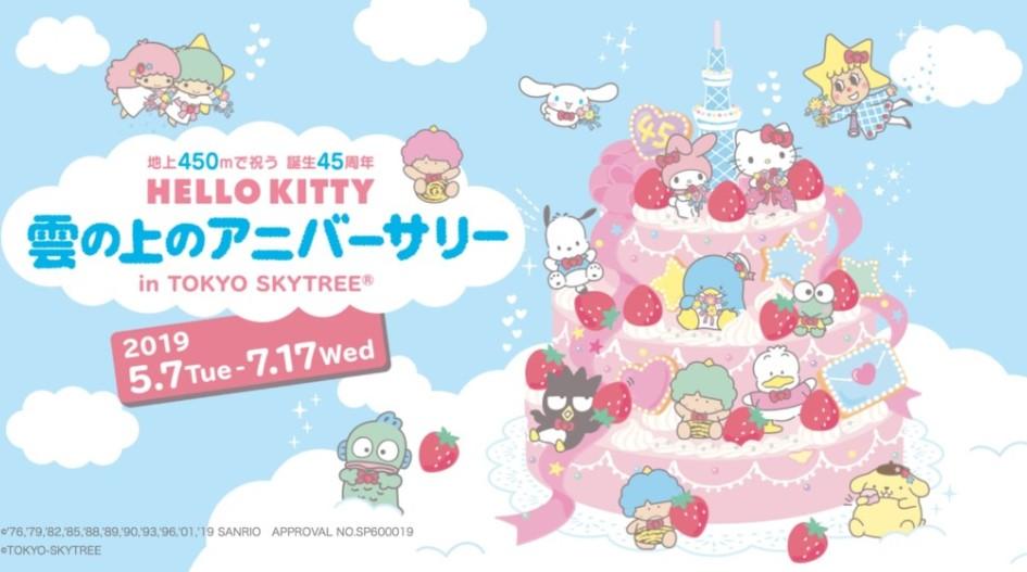 Hello Kitty-云生日派对