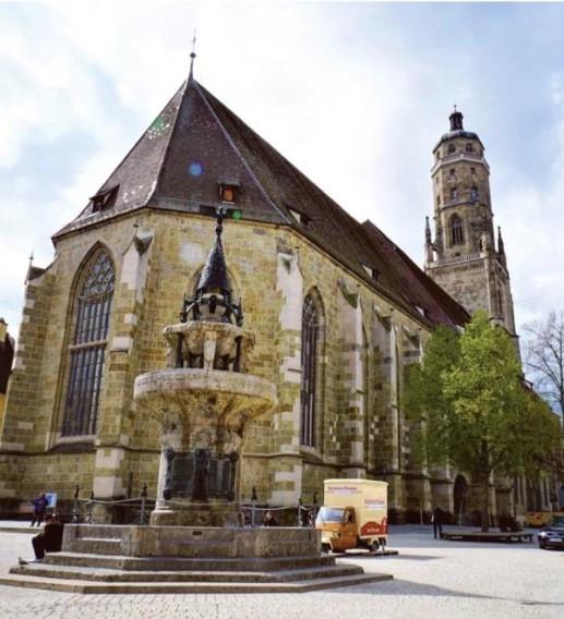 圣乔治教堂, 德国, 诺德林根, 钻石
