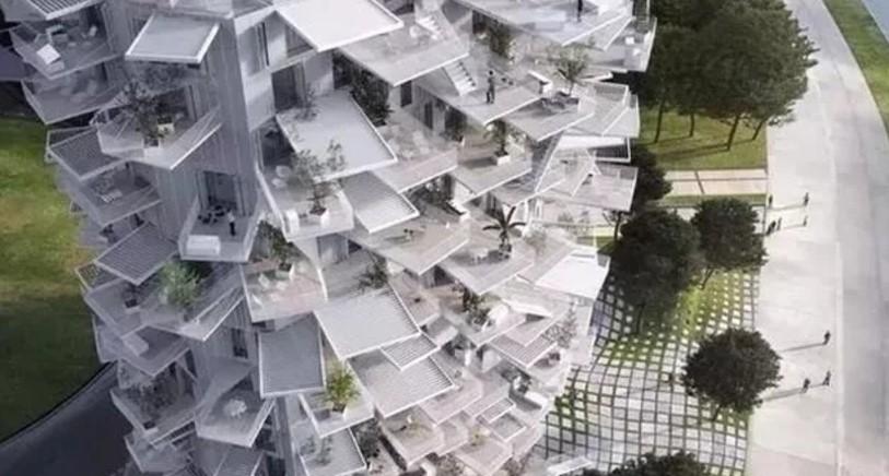 Montpellier, 南法, 白树, 绿建筑, 藤本壮介
