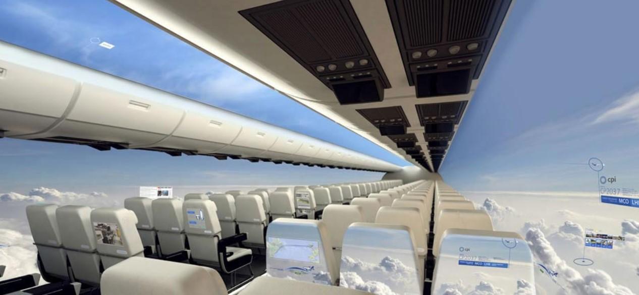 空中巴士, 透明飞机