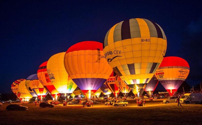 英国布里斯托国际热气球节