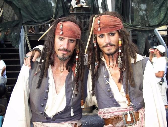 Johnny Depp & Tony Angelotti