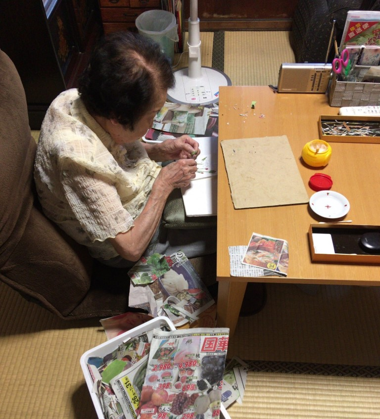 diy,90岁阿嬷
