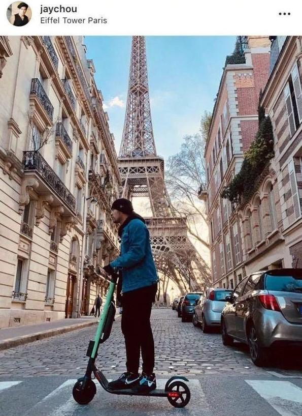 电动滑板车进驻巴黎