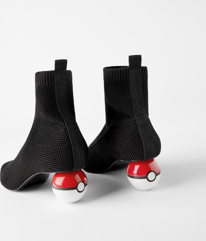 Pokémon宝贝球短靴