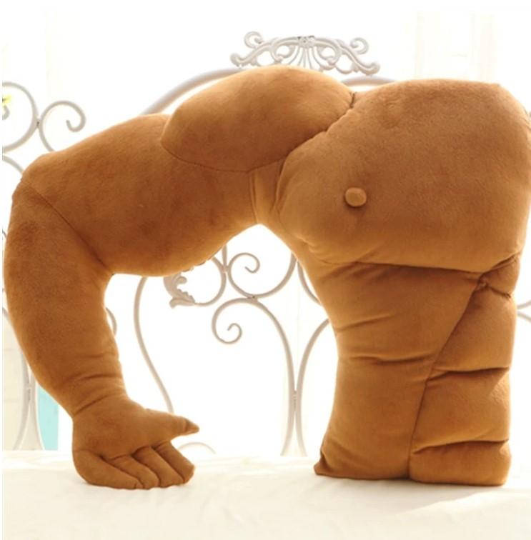 肌肉男友抱枕