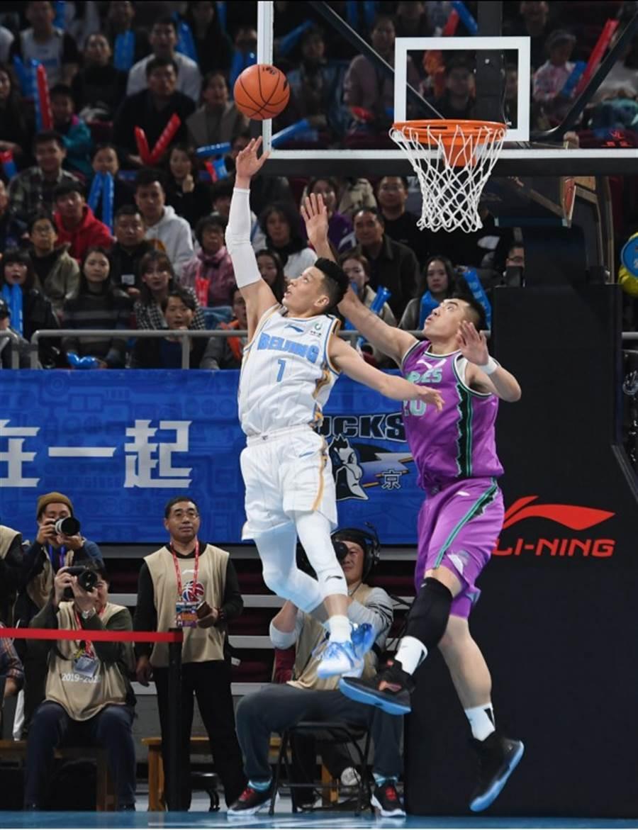 林书豪北京击败山东
