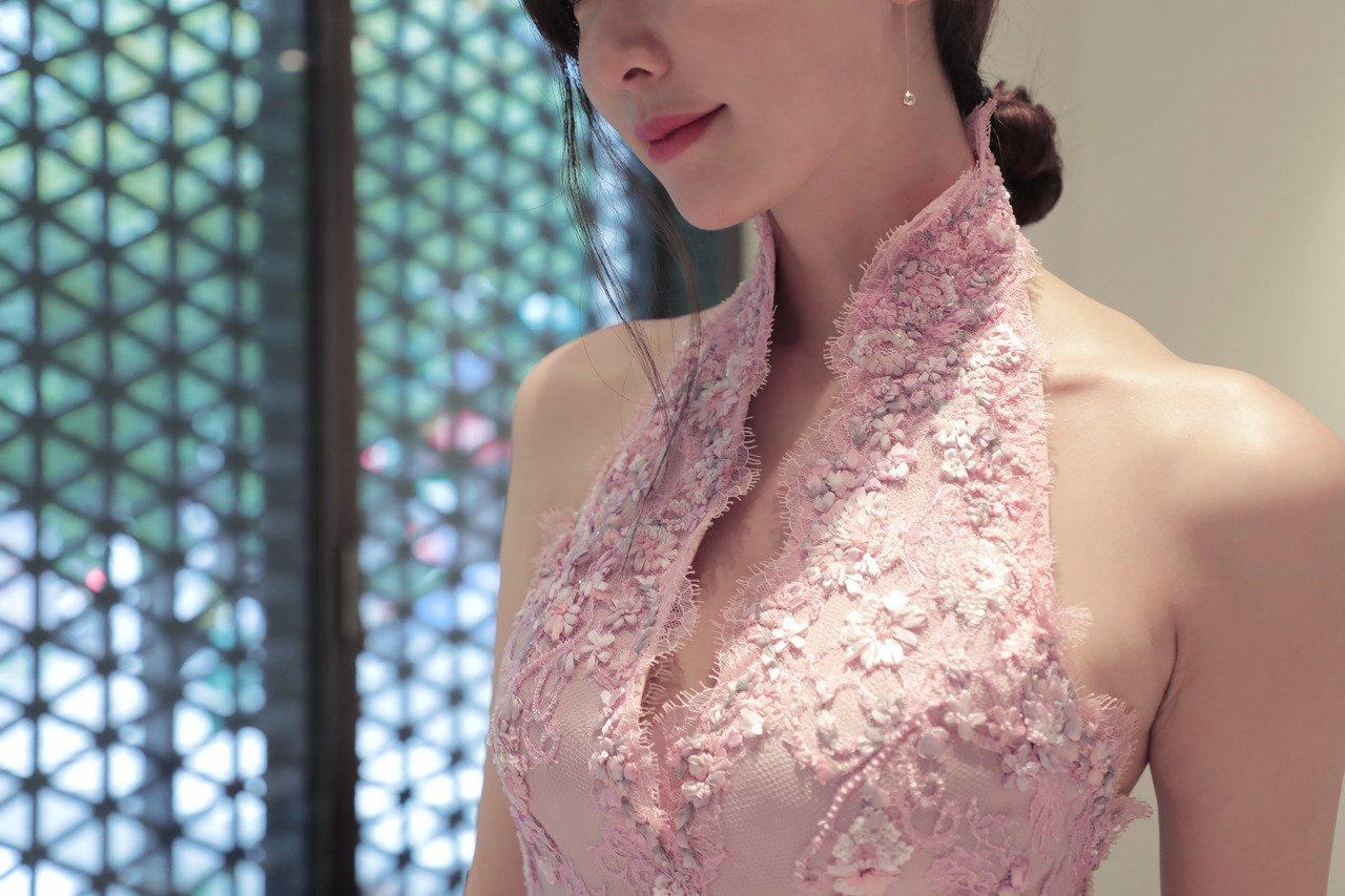 林志玲披婚
