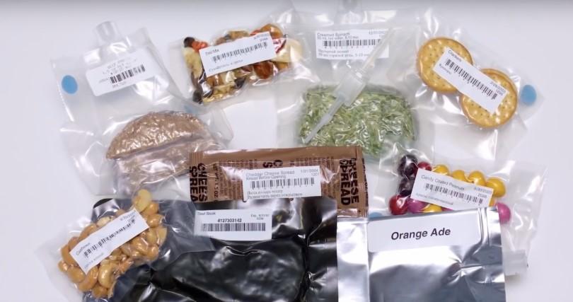 NASA 太空人告訴你他們在太空都吃什麼
