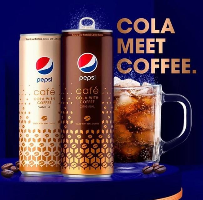 咖啡可乐Pepsi Cafe