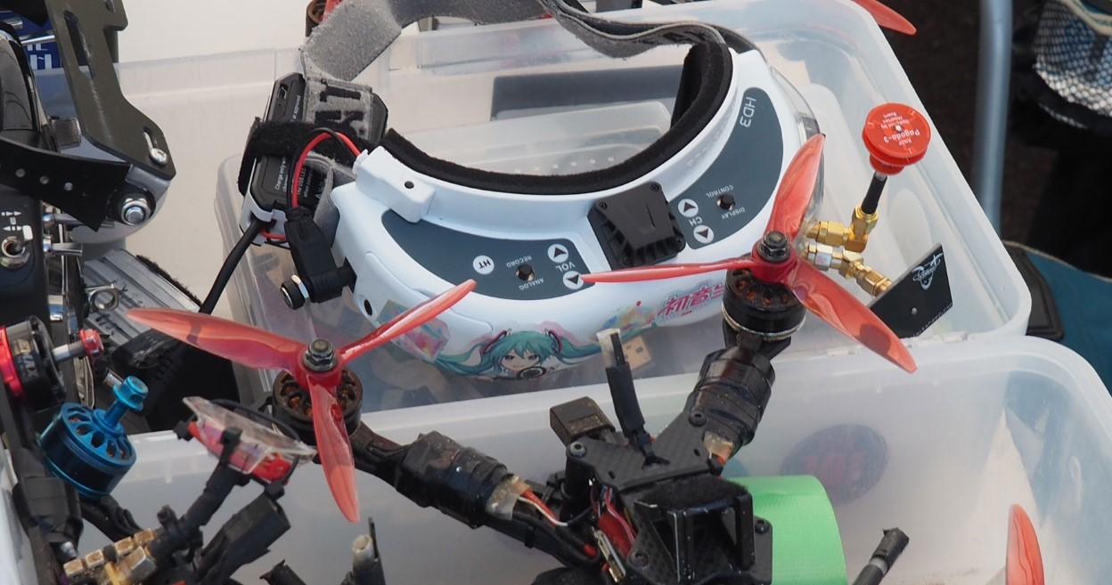 赛车竞速运动,無人機