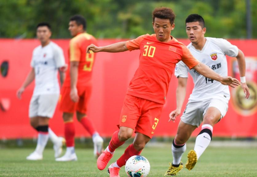 热身赛:国足4-1上港