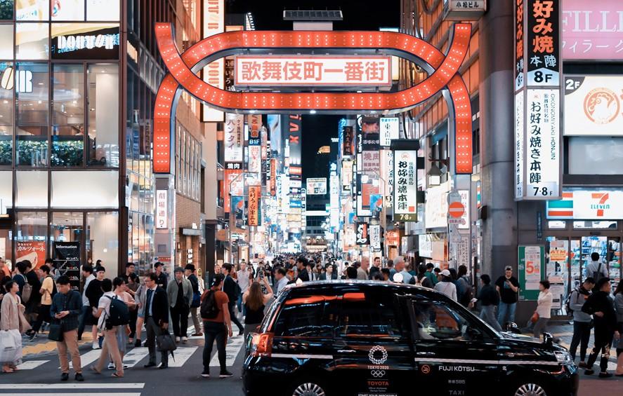 夜幕下东京