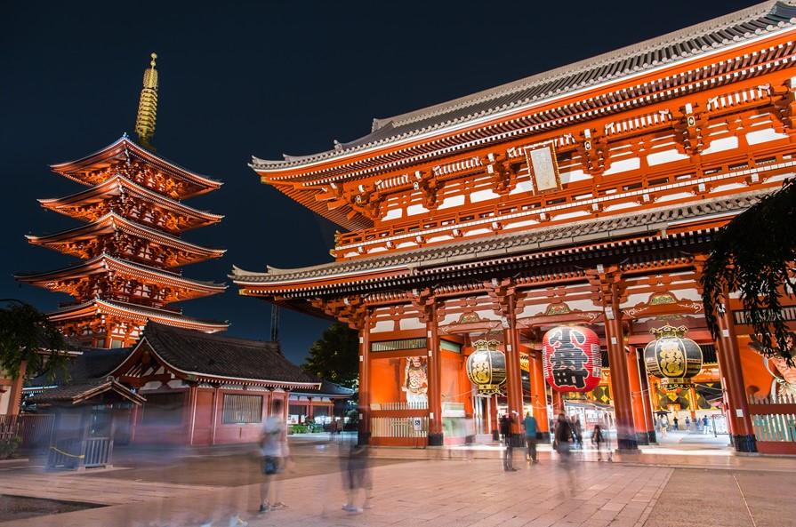 东京浅草寺宝藏门