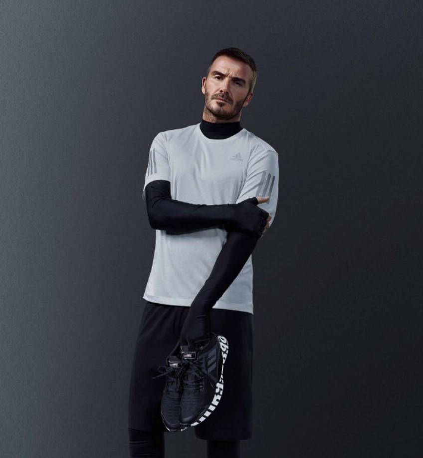 David Beckham贝克汉姆 霸气黑魂