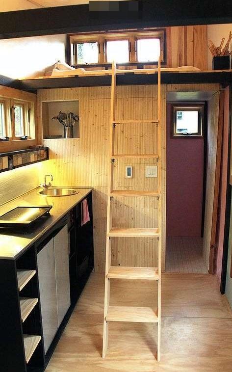移动式彩色木屋