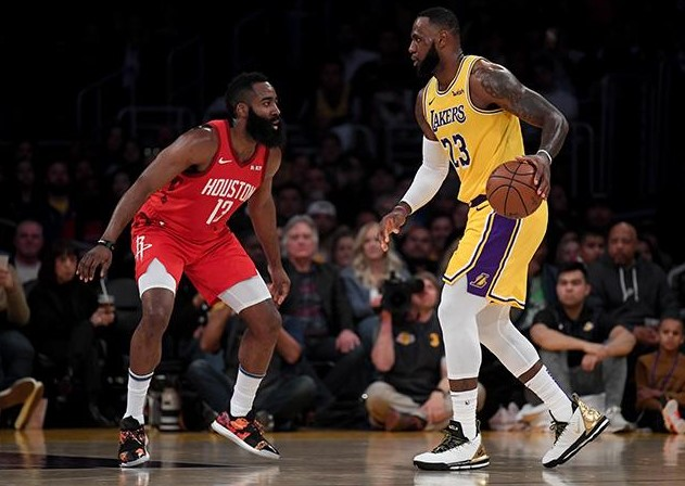 NBA前瞻:火箭VS湖人