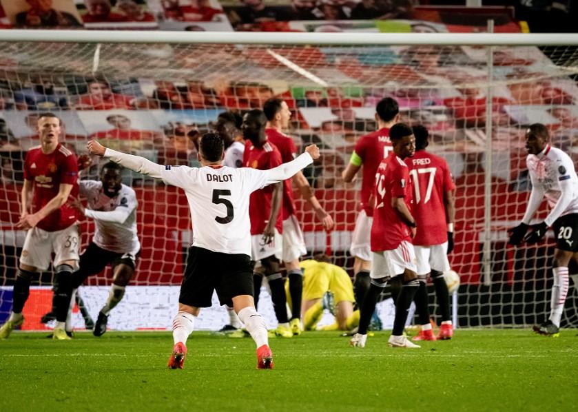 欧联-曼联补时丢球1-1米兰