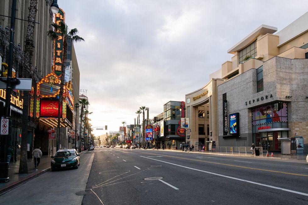 加州好莱坞大道