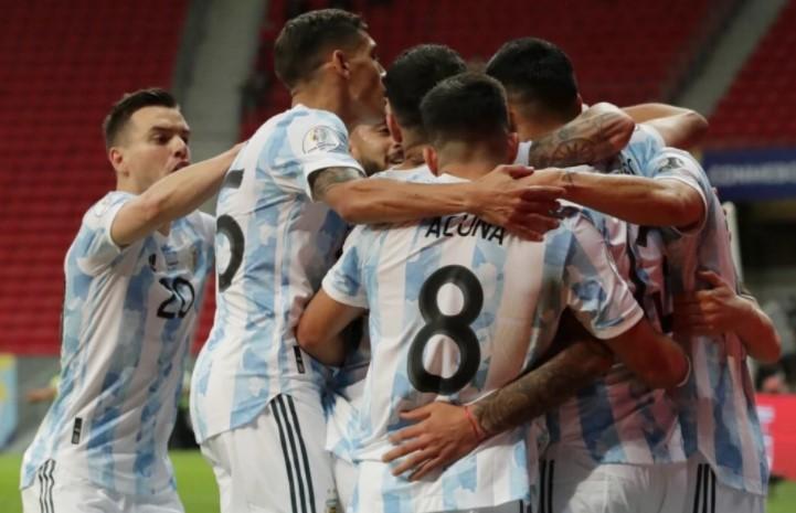 阿根廷队1-0,美洲杯