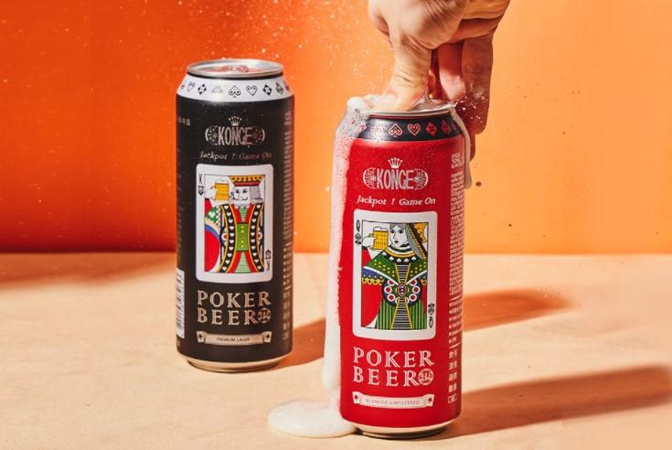 来自乌克兰的国王扑克啤酒,是由「全欧洲唯一使用自产麦芽和啤酒花」的国际专业酒厂Obolon所酿制而成,该酒厂年产量超过14亿公升,拥有一条龙生产机制,原料质量高而稳定,为许多知名啤酒品牌代工生产,首次推出两款绝配经典啤酒。以「扑克牌和命运」作为设计理念,首次即推出两款绝配经典包装King & Queen,分别为经典拉格啤酒与橙香白啤酒口味,喝下即感受到「Poker扑口、幸运到手」