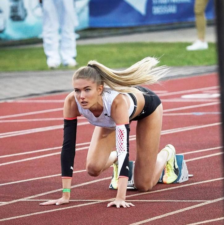 德国田径选手Alica Schmidt