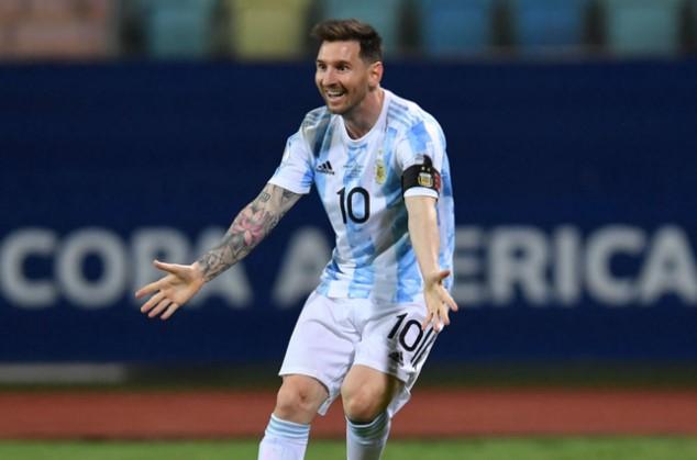 梅西,2021年美洲杯