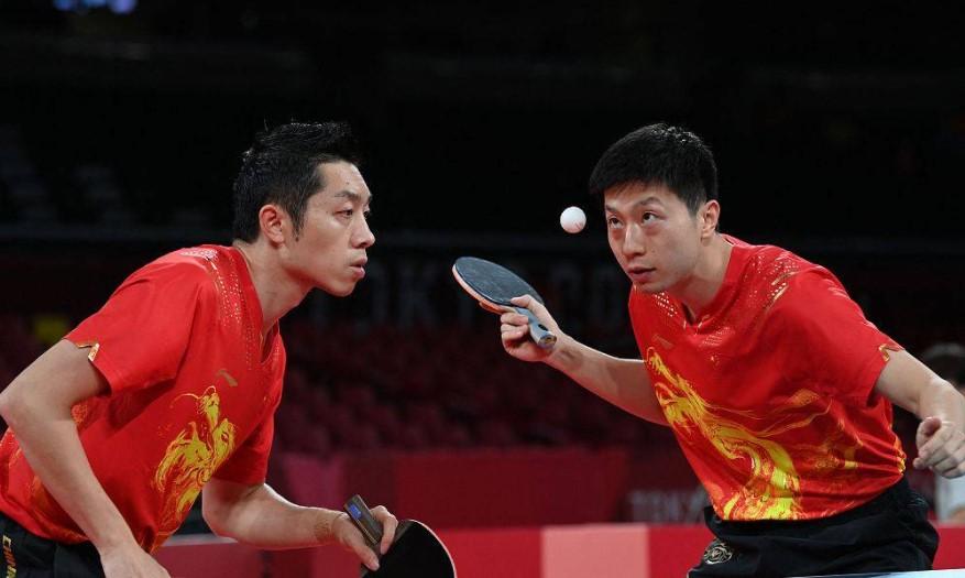 许昕,马龙,东京奥运会乒乓球
