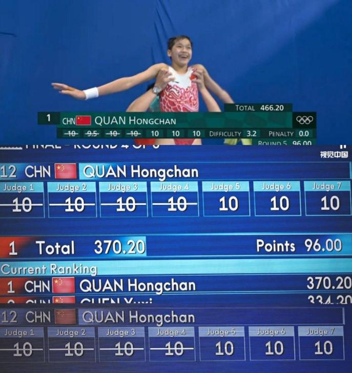 东京奥运,全红婵